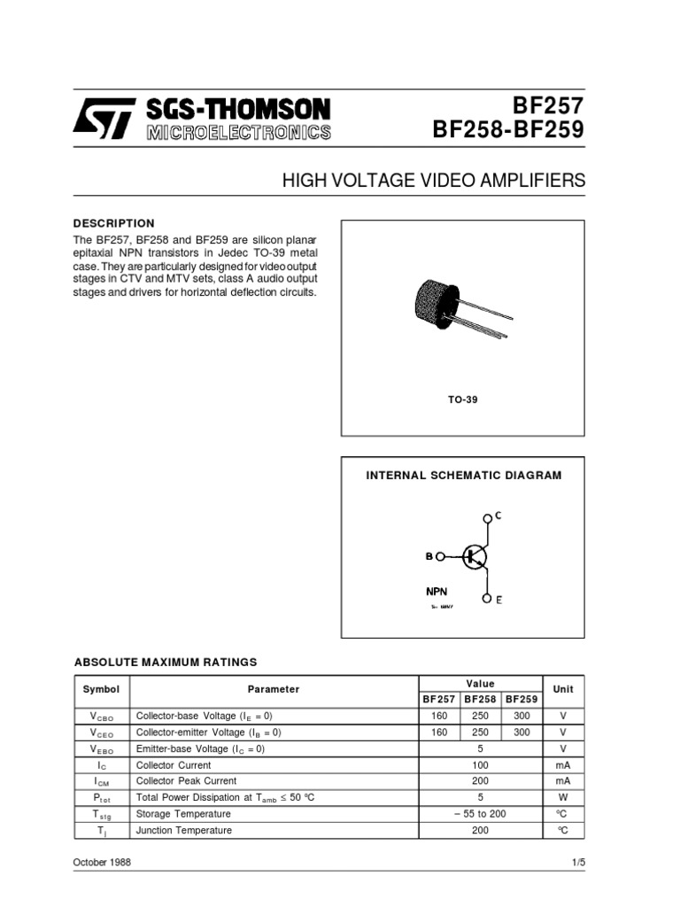 Bf259 Pdf Download