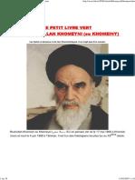 55261-Livre Vert de Khomeini