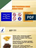6 Pengaturan Dan Penggunaan Btp