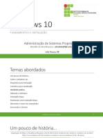 Windows 10 - Fundamentos e Instalação