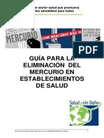 Guia Eliminacion Mercurio Salud Sin Daño