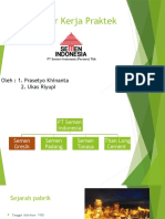 Presentasi Kp Semen Indonesia