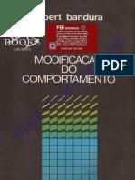 Bandura, A. (1979). Modificação Do Comportamento