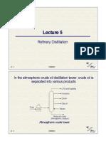 Refinery Distillation