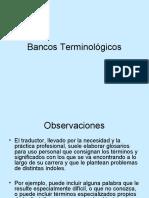 Bancos Terminológicos