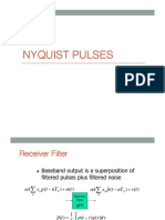 Lecture 11 Nyquist Pulses
