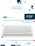 ST Products and Solutions for Solar Energy