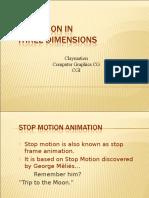 history of animation set 3- 3-d animation
