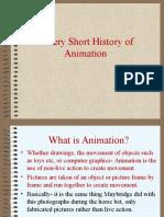 history of animation set 1- short history of animation