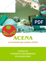 Cuidados Enfermeros en Quirófano