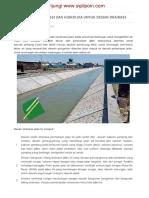 Analisis Hidrologi Dan Hidrolika Untuk Desain Drainase