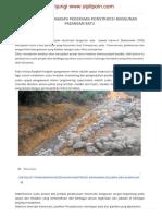 Checklist Pengawasan Pekerjaan Konstruksi Bangunan Pasangan Batu