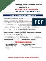 Urgencias Medico Quirurgicas Ficha de Datos