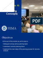 Module 4 Planning Concepts