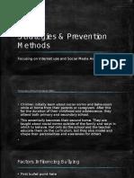 Strategies & Prevention Methods
