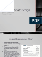 Gear and Shaft Design Shihab