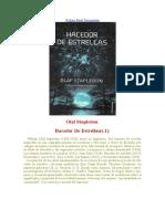 Stapledon, Olaf - Hacedor De Estrellas (c.1).doc