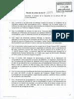 Frente Amplio propone constituir una Comisión Especial para investigar la compra irregular