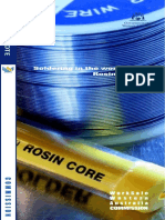 Guide-soldering and Rosin Fluxes