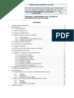 Manual de o&m Redes Agua