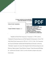 Vemma Final Order (FTC Settlement)
