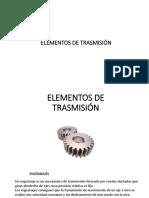 Elementos de Transmisión