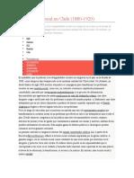 La cuestión social en Chile.docx