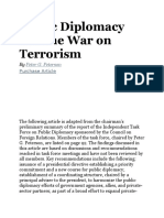 Public Diplomacy and the War on Terrorism
