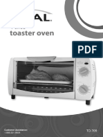 Rival to-709 Toaster Oven