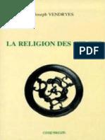 Vendryès Joseph - La Religion Des Celtes