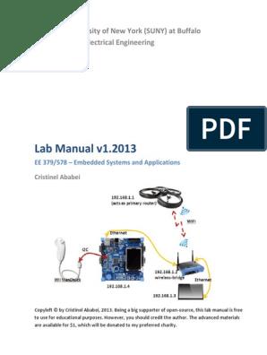 NXP LPC1768 & Keil quadcopter project Lab Manual pdf | Process