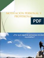 Motivacion Personal y Profesional