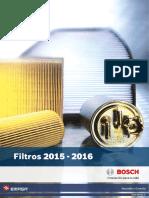 Catalogo Filtro 2016