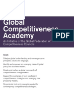 GFCC Global Competitiveness Academy | 2016 Brochure