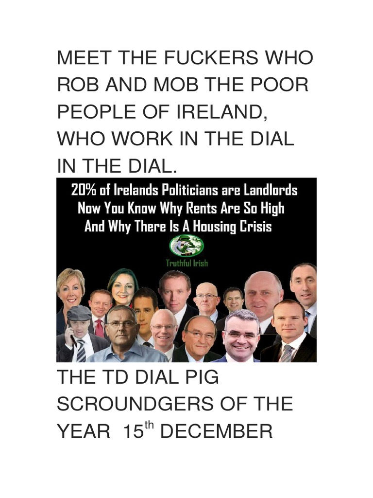 Meet the fuckers who rob and mob the poor people of ireland and the meet the fuckers who rob and mob the poor people of ireland and the homeless the curse of god go on them all leasehold estate landlord malvernweather Gallery