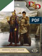 Guía Del DM para sesinato en Puerta de Baldur