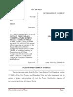 Plea in Intervention - Killeen ISD