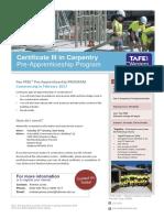 Carpentry PA Flyer3