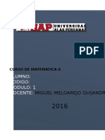 Matematica II T.A