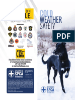Cold Weather Safety Brochure