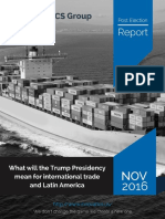 Post Election Report - What will the Trump Presidency mean for international trade and Latin America (Executive Summary)