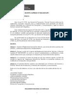 Reglamento Nacional de Vehiculos Actualizado Al 23.08.2016