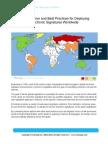 EchoSign International Electronic Signature Summary