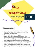 EKSKRESI OBAT