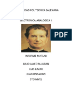 Informe Matlab PDF
