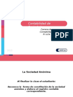 PPT - Contabilidad de Sociedades SESION N° 10 SOCIEDAD ANONIMA.ppt