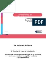 PPT - Contabilidad de Sociedades SOCIEDAD ANONIMA ORGANOS DE LA SOCIEDAD.ppt