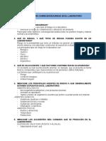 CUESTIONARIO bioseguridad