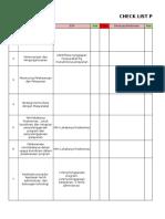 Pemetaan Penyusunan Dokumen