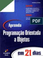 OO Em Java - Aprenda Em 21 Dias - Portugues